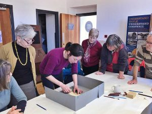 Volunteering at the Hayle Heritage Centre