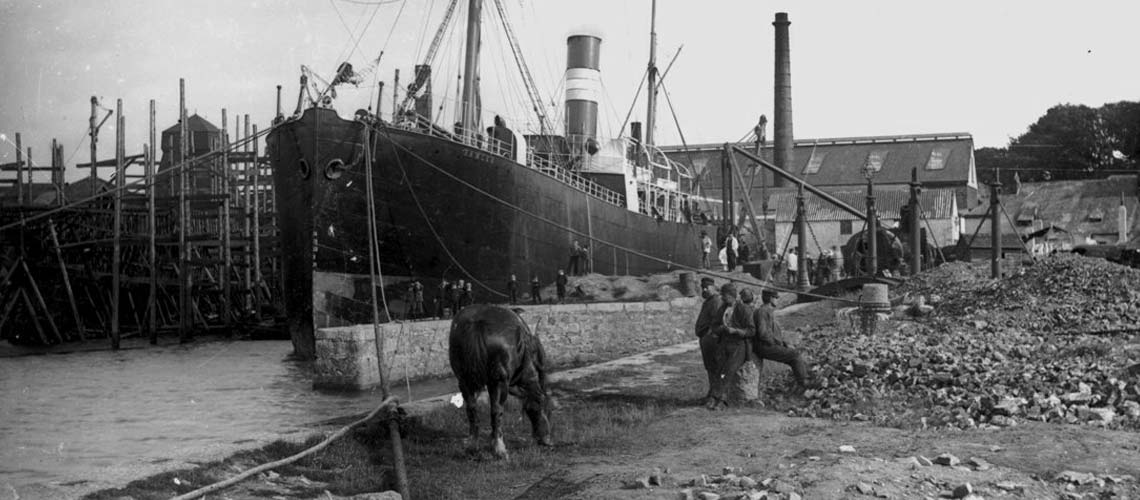 Industrial Heritage - Shipping. The ss Ramleh`