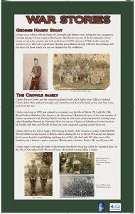 War Stories Panel 1