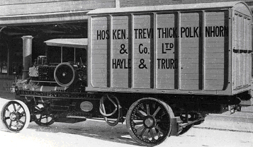 H.T.P. Delivery Truck.